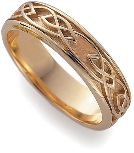 Clogau 9ct Rose Gold ELR001 Unisex Eternal Love Ring