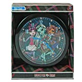 MONSTER HIGH DISNEY 10 WALL CLOCK: Quartz Accuracy, Easy Wall Mounting. Battery Operated Requires 1 AA Battery (Not Included