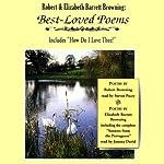 Robert and Elizabeth Barrett Browning: Best-Loved Poems   Robert Browning,Elizabeth Barrett Browning