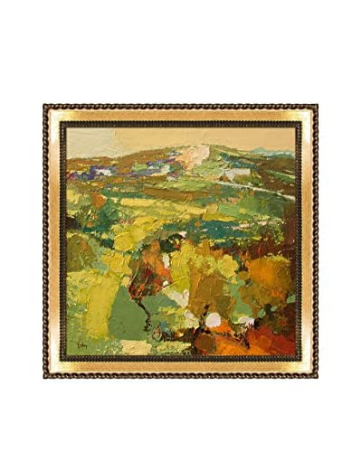 "Alex Bertaina ""Triomphe Du Printemps"" Framed Canvas Print, Multi, 20.75″ x 20.75″"
