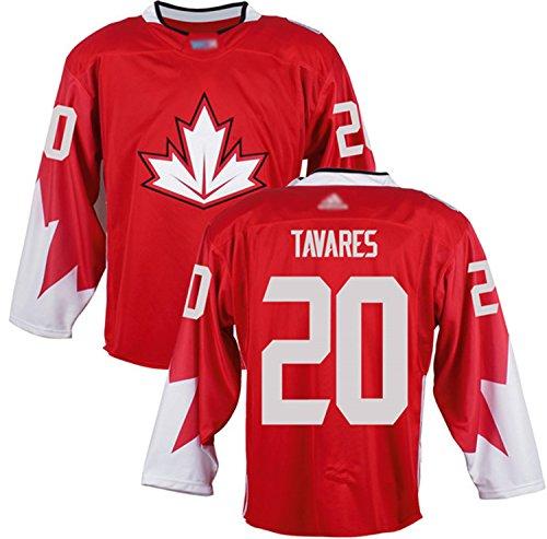 Custom Men's Tavares #20 Canada 2016 World Cup of Hockey Jersey XXXL Red
