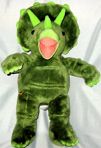 "Build A Bear Workshop Triceratops 17"" Plush Dinosaur"