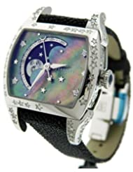 Ladies Perrelet A2034/5 Diamond Star Mother of Pearl Moon Phase Watch