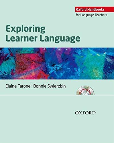 Exploring Learner Language (Oxford Handbooks for Language Teachers)
