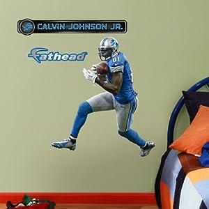 NFL Detroit Lions Calvin Johnson Junior Wall Graphics by Fathead