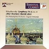Symphony 4 / 1812 Overture / Marche Slave