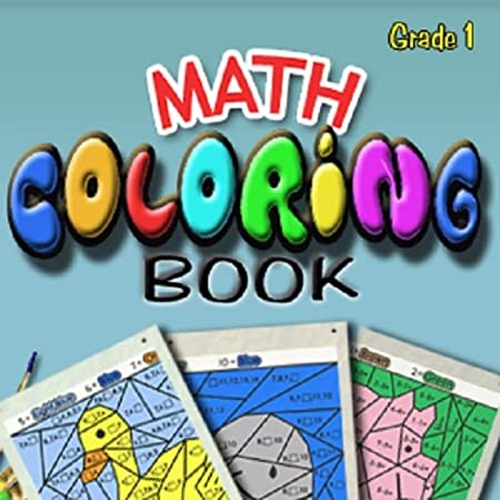 Math Coloring Book:Grade 1 [Download]