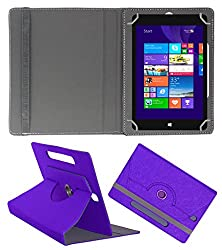 Acm Designer Rotating Case For Notion Ink Cain 10 Stand Cover Purple
