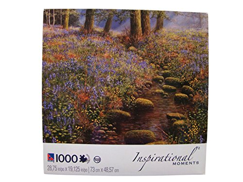 Inspirational Moments 1000 Piece Jigsaw Puzzle: Bluebell Wood