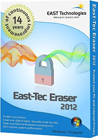 East-Tec Eraser 2012 - Guard Against Identity Theft and Protect Your Privacy By Safely Cleaning and Erasing Sensitive Data Like Medical Records or Financial Data From Your Computer (Windows Software)