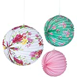 Talking Tables Truly Scrumptious Paper Lanterns, Pack of 3