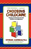 Choosing Childcare: Finding and Keeping the Best Childcare Arrangements