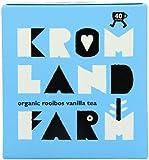 Kromland Farm Organic Rooibos Vanilla 40 Teabags (Pack of 6)