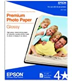 Epson Premium Photo Paper GLOSSY (11x14 Inches, 20 Sheets) (S041466)