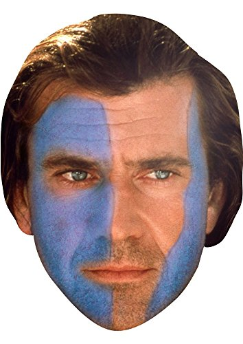 [Maskjunction Braveheart Mask] (Braveheart Fancy Dress Costume)