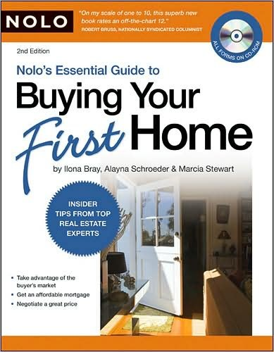 by Marcia Stewart,by Ilona Bray J.D.,byAlayna Schroeder J.D.Nolo's Essential Guide to Buying Your First Home (book with CD-Rom & Audio)(text only)2nd(Second) edition[Paperback]2009