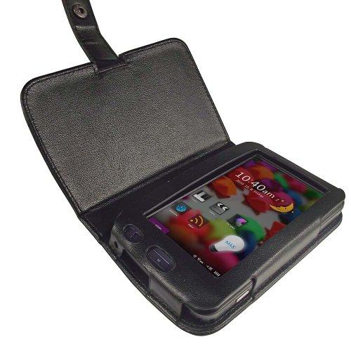 iGadgitz Black Genuine Leather Case Cover for Cowon X7 MP3 Player mp3 плеер cowon plenue 1 128gb titanium black