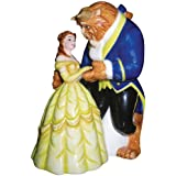 Westland Giftware Life According to Disney Princesses Beauty and the Beast Dance 4-Inch Magnetic Salt and Pepper Shakers