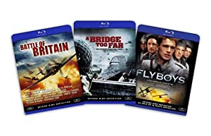 Blu-ray War Bundle (Battle of Britain / A Bridge Too Far / Flyboys) - (Amazon.com Exclusive)