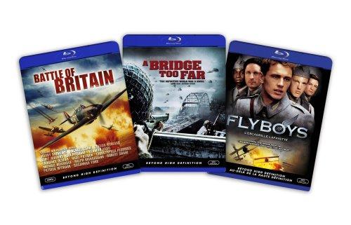 Blu-ray War Bundle (Battle of Britain / A Bridge Too Far / Flyboys) - (Amazon.com Exclusive)