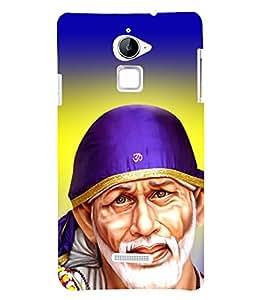 Sai Baba Sai Ram 3D Hard Polycarbonate Designer Back Case Cover for Coolpad Note 3 Lite :: Coolpad Note 3 Lite Dual SIM