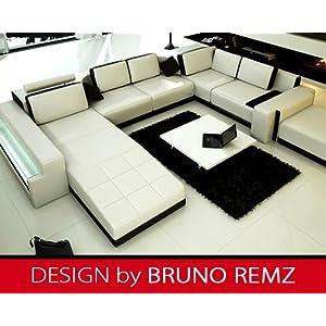 Jetzt Kaufen Bruno Remz Frankfurt Leder Sofa Ledersofa Ecksofa Wohnlandschaft Ledercouch