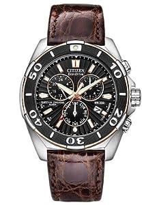 Citizen Men's BL5446-01E The Signature Collection Eco-Drive Perpetual Calendar Chronograph Watch