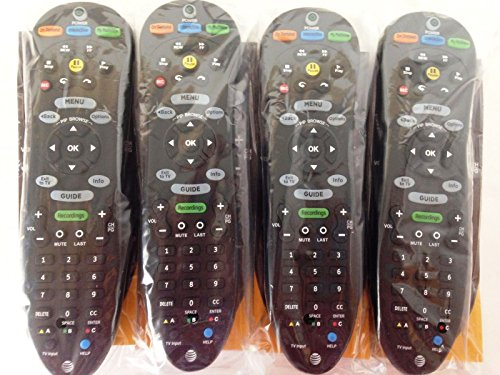 Lot of 4 New S20-S1A Programmable Universal Remote AT&T U-verse (Att Universal Remote compare prices)