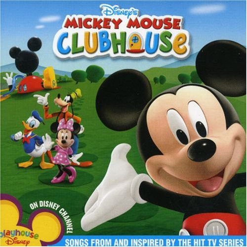 Mickey mouse clubhouse cd covers for Mouse house music
