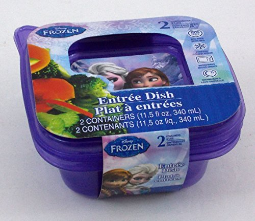 Disney's Frozen Entree Dish Pack of 2 Containers & Lids (Disney Container compare prices)