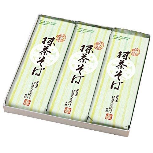 Itoh h. right Mamoru gate Gifts Gift Uji Matcha green tea soba noodles 2 × 3 bags boxed noodles 3 x 200 g bags s-1