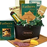 Art of Appreciation Gift Baskets   Fathers Are Forever Gourmet Food Basket