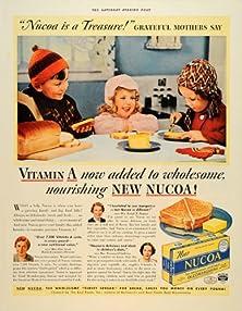 buy 1938 Ad Nucoa Hellman'S Children Oleomargarin Vitamin A - Original Print Ad