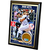 MLB New York Yankees Derek Jeter 3000th Hit 4x6 Dirt Plaque