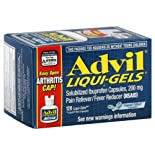 Advil Liqui-Gels Pain Reliever/Fever Reducer, 200 mg, Liquid Filled Capsules, 120 liqui-gels
