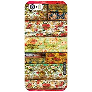 Apple iPhone 5S Back Cover - Wood Art Designer Cases