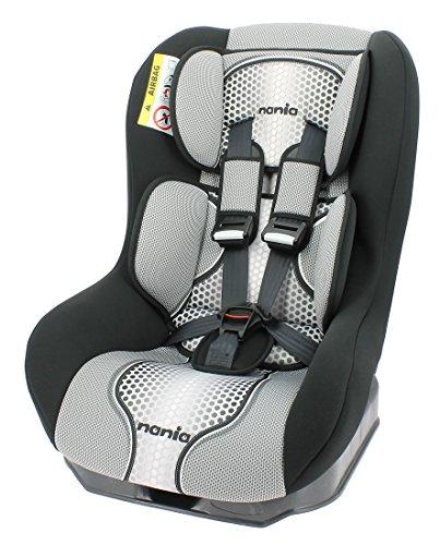 Osann Safety Plus NT-Seggiolino auto per bambini, (0-18kg), ECE Gruppo 0/1, dalla nascita fino a circa 4anni, Reboard utilizzabile fino a 10kg, Pop BLACK Nero