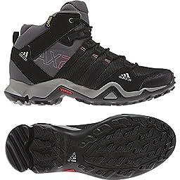 Adidas AX 2 Mid GTX Boot - Women\'s Carbon / Black / Sharp Grey 6.5