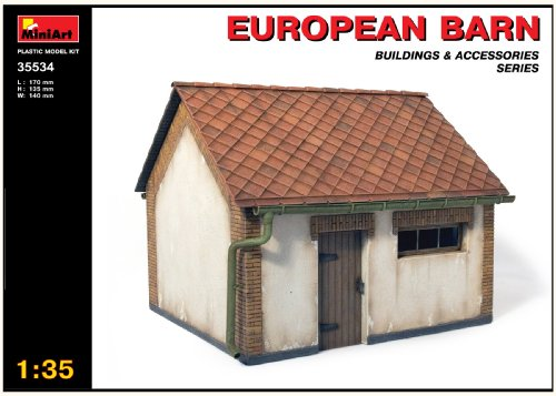 Buy Low Price Dragon Models MiniArt 1/35 European Barn with Bonus Figure Set by Dragon Models (B002JP6H74)