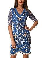 Almatrichi Vestido Atlantic (Azul)