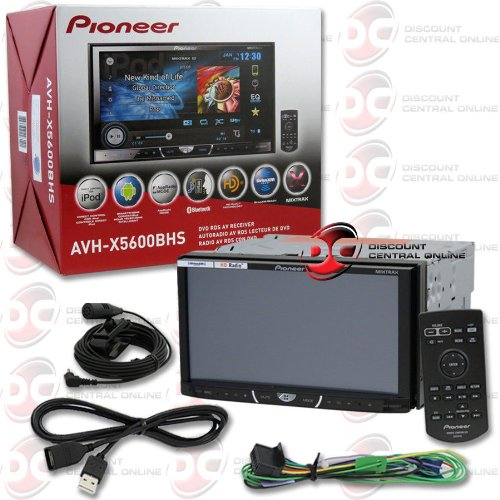 "Pioneer Avh-X5600Bhs 7"" Double Din Touchscreen Car Cd Dvd Stereo"