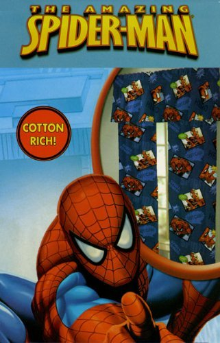 Amazing Spider-man Drapes with Tie Backs - 2 Panels each 42
