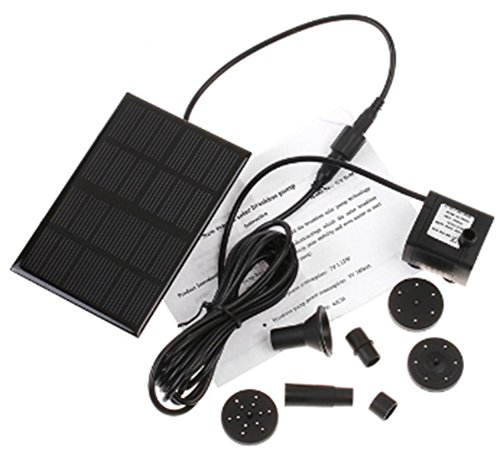 Amaranteen - High Efficiency Garden Brushless Solar-Powered Water Pump