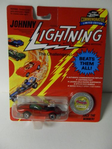 Johnny Lightning The Challengers Vicious Vette Red Die Cast Vechicle