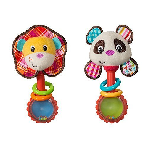 Infantino Shake & Smile Rattle Pal - 1