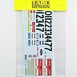 TABU DESIGN/タブデザイン  1/20 ロータス72C オプションデカール (エブロ対応)【TABU-20117】