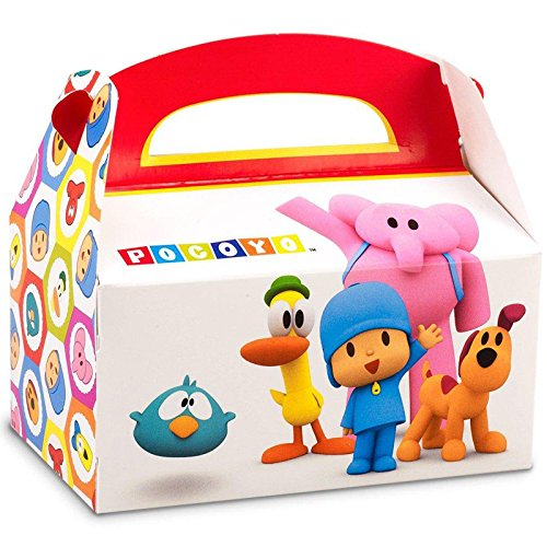 Pocoyo Empty Favor Boxes (4)