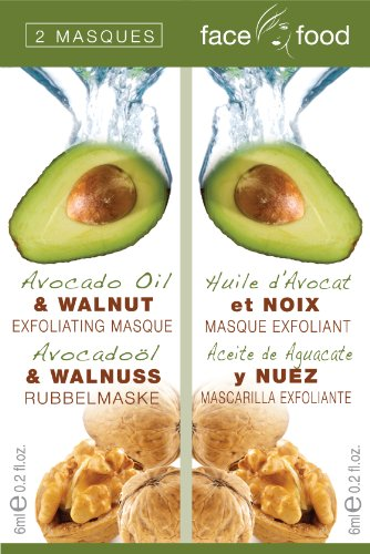 Face Food Avocado Oil and Walnut Mask