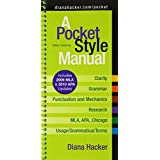 Pocket Style Manual 5e with 2009 MLA and 2010 APA Updates & MLA Quick Reference Card & APA Quick Reference Card ~ Diana Hacker