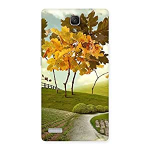 Stylish Printed Way Back Case Cover for Redmi Note 4